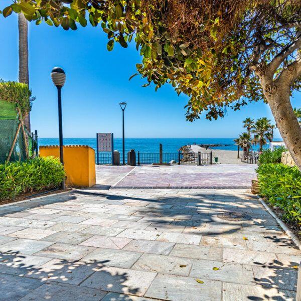 Piso alquiler Marbella centro Puerta del Mar